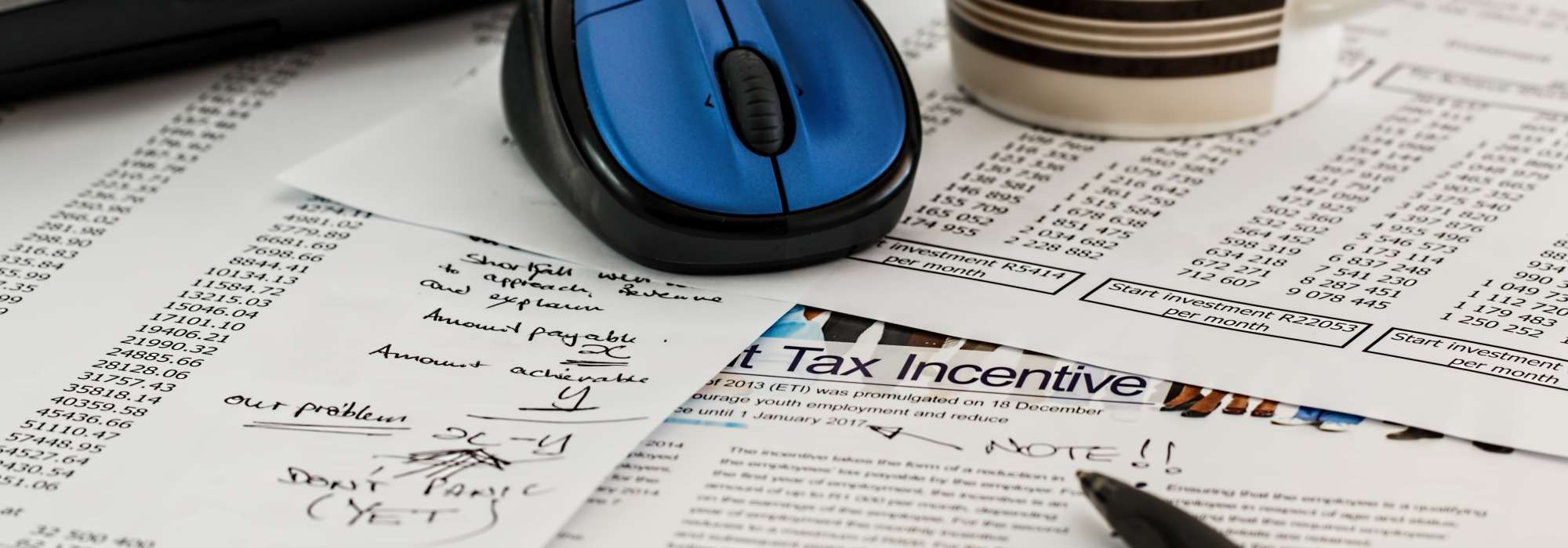 Tax planning and accounts